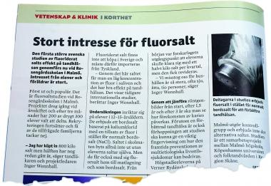 Studie på fluorsalt snart klar