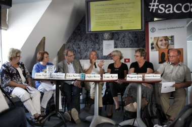 Äldres munhälsa lockade till debatt i Almedalen