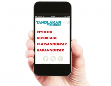 Läs Tandläkartidningen i mobilen