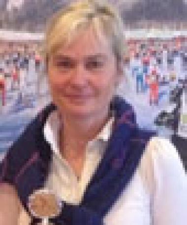 Britta Ungerholm fick silvermedalj