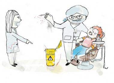 Tuffare regler för spruthantering