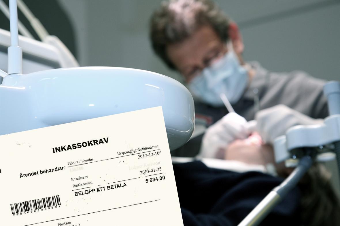 Miljonförlust när patienter inte betalar