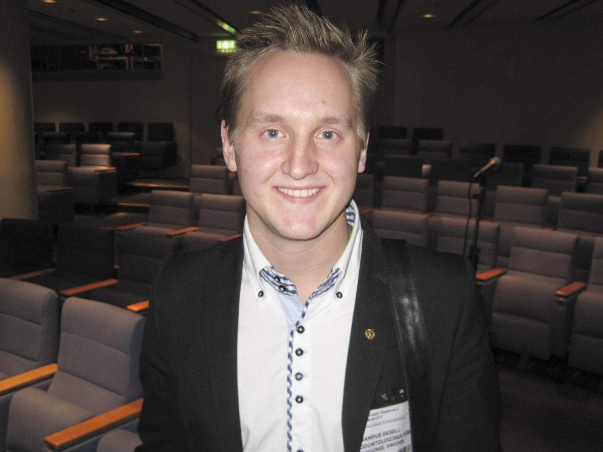 Hampus Eksell tar över studerandeföreningen
