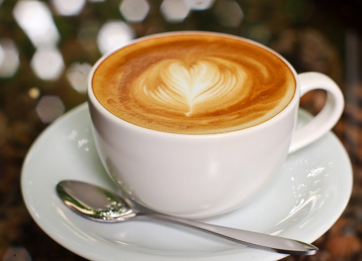 Etiskt café med estetik på menyn