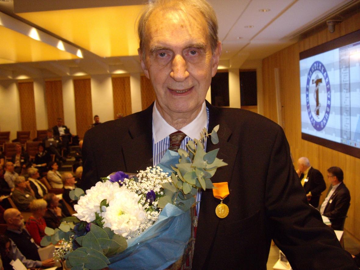 Lars Frithiof får medalj för etiskt engagemang