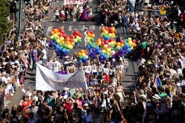 Tandläkarförbundet deltar i Prideparaden