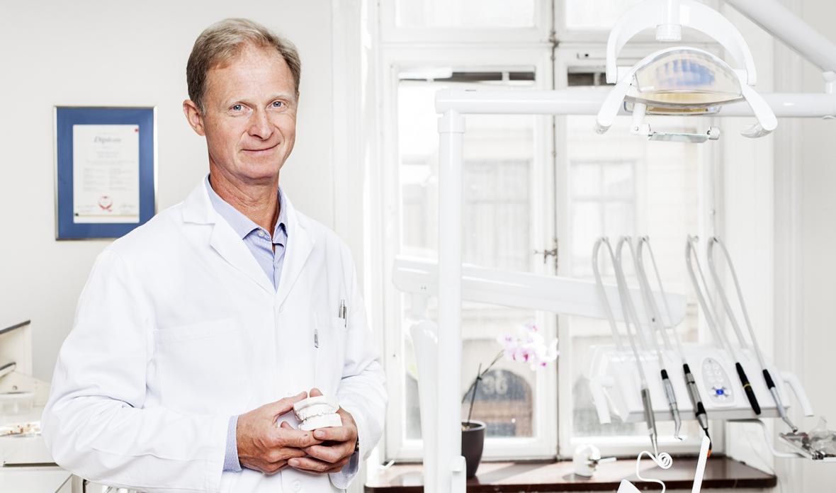 Johan Karsten tar ortodontin mot framtiden