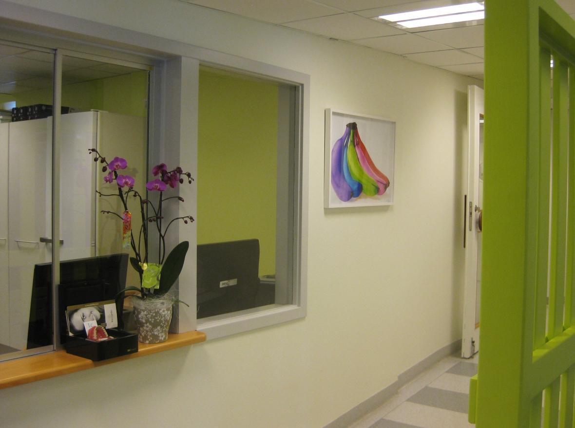 Tandläkare i Norrtälje har årets väntrum