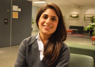 Helen Taheri tar över Studerandeföreningen