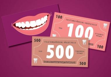 Uppsala inför presentkort på tandvård
