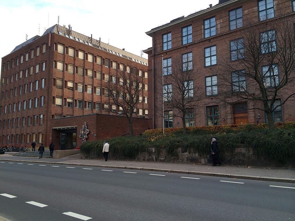 Tannlegehøyskolen i Geitmyrsveien såg ut som i gamla dagar från utsidan, men insidan hade fått ett rejält lyft!