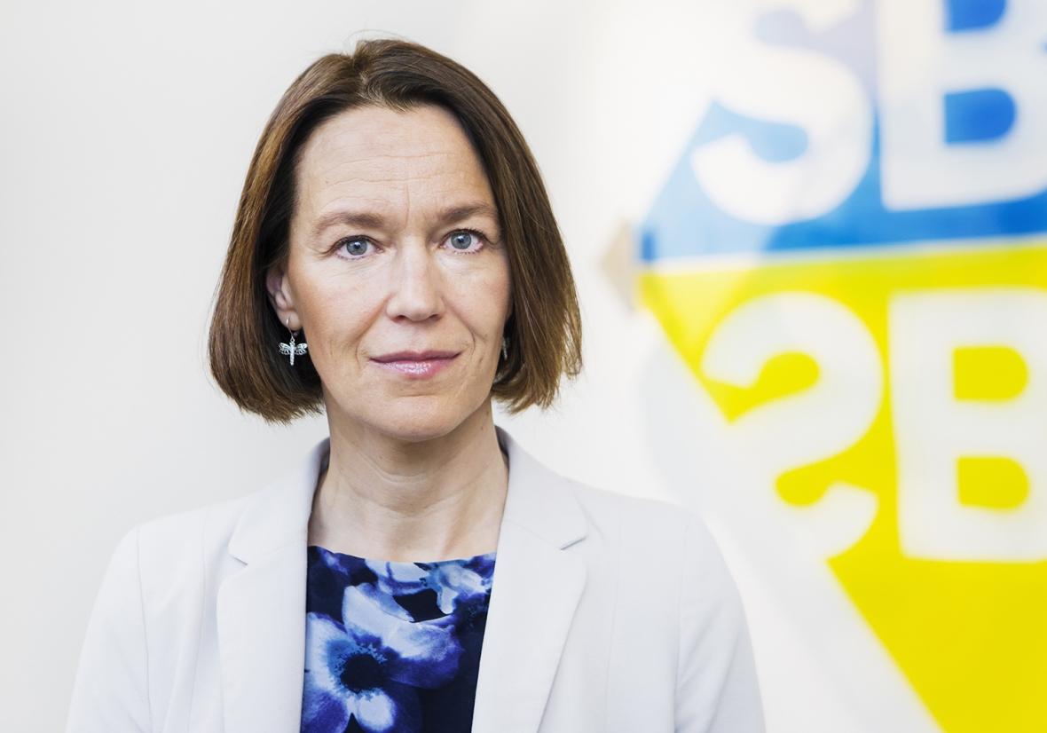 Olivia Wigzell tar över Socialstyrelsen