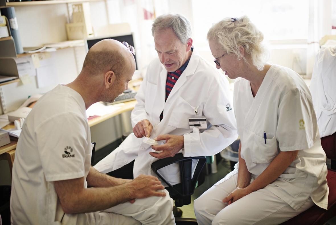 Teamarbete för LKG-patienter