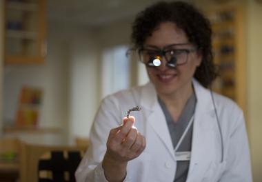 Hon bryter ny mark inom materialforskning
