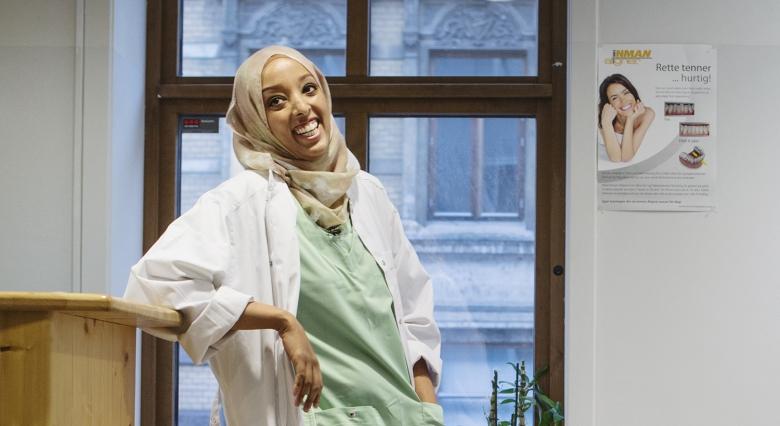 Amal Ali spräcker fördomar