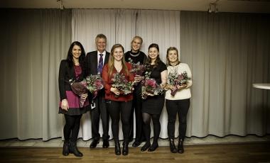 Årets pristagare belönades på riksstämman