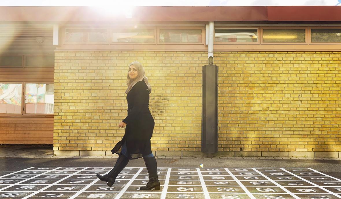 Starta eget en självklarhet för Dina Majid