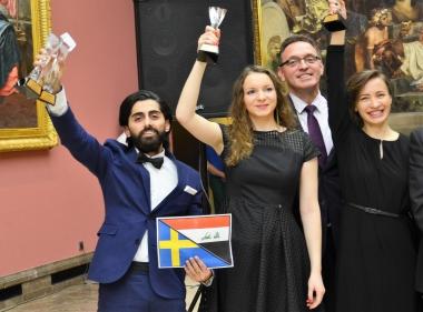 Svensk student bäst i Polen