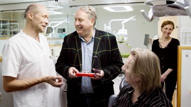 Kliniken som hjälper uppfinnarjocke