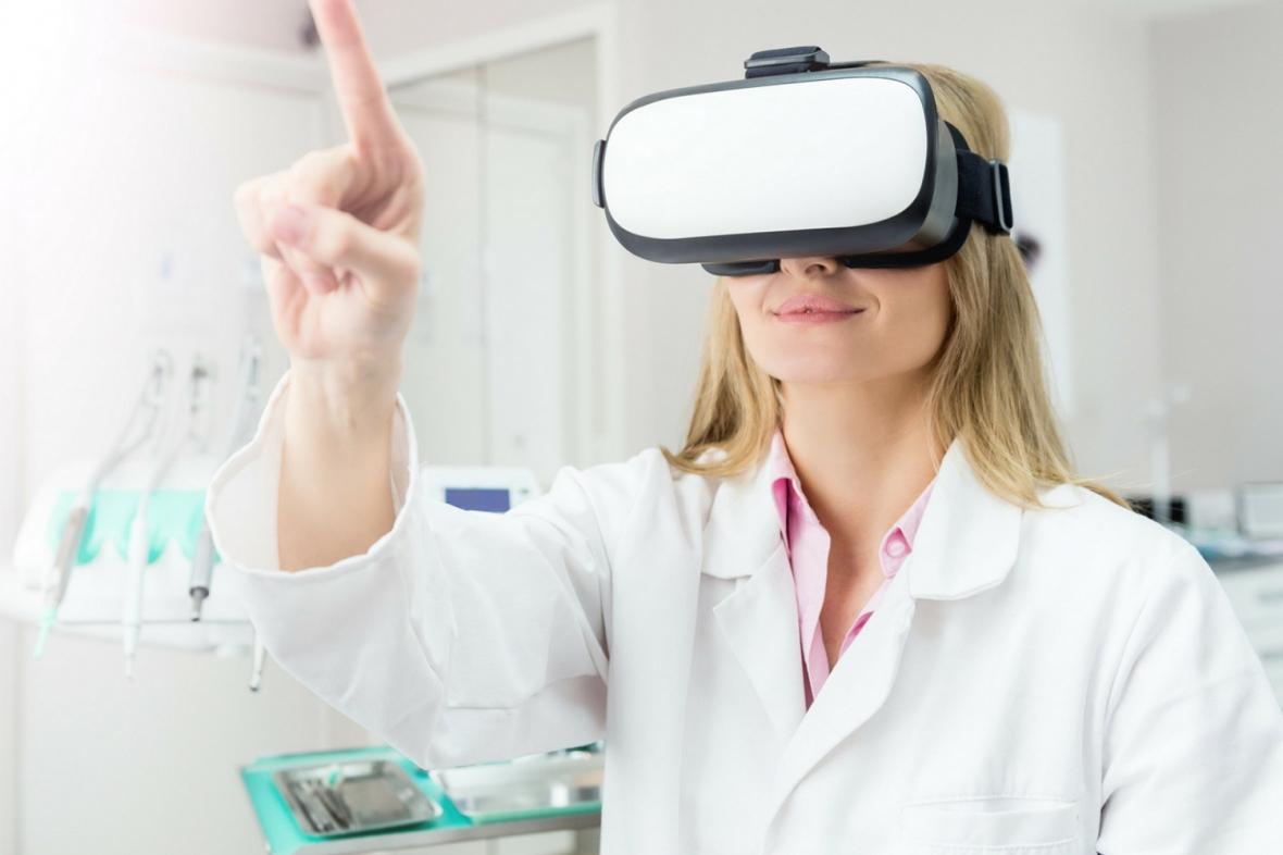 Virtuell verklighet vägleder tandläkare