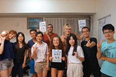 Två veckor i Taiwan gav mersmak