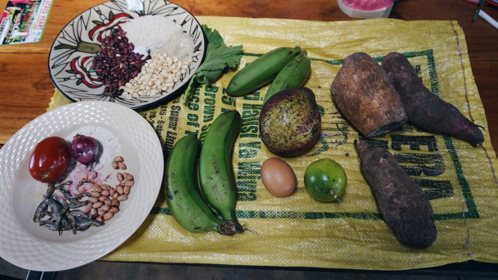 Det finns massor med bra mat i Tanzania!