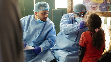 Tandläkare och flykting