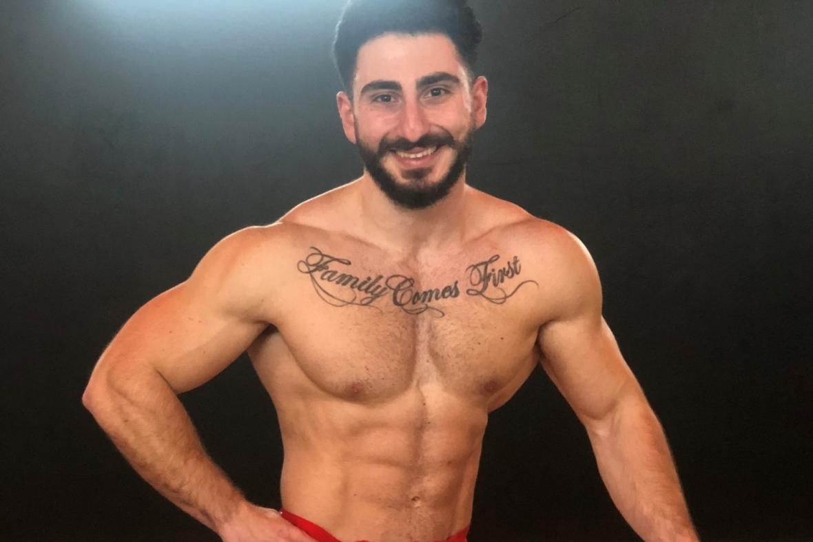 Tandläkaren tävlar i men's physique