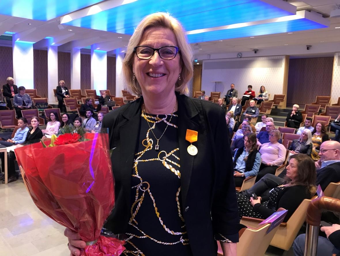 Louise Ericson får pris
