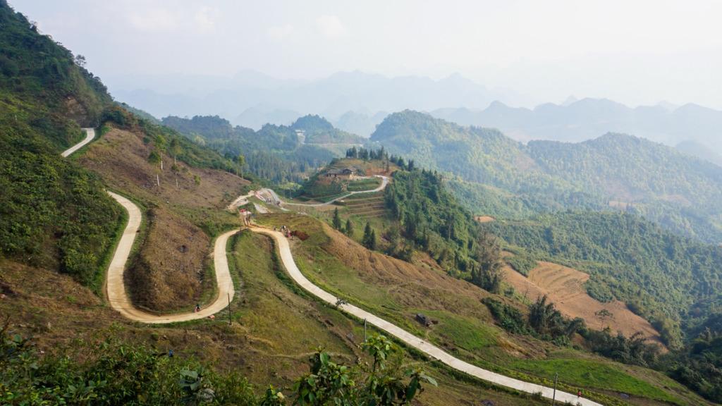 Vägar i Ha Giang