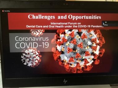 Videokonferens om tandvården i coronatider