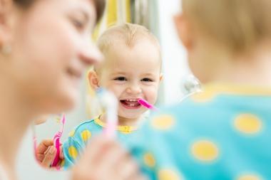Kariesprevention hos mammor skyddar barnen