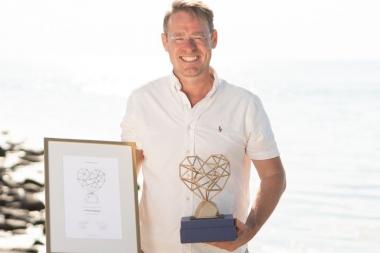 Johan Hagman får Guldhjärtat