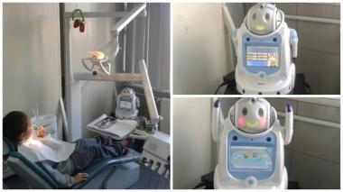 Robot kan minska barns ångest vid tandingrepp