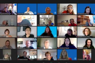 Tandläkarna höll sitt första digitala förbundsmöte