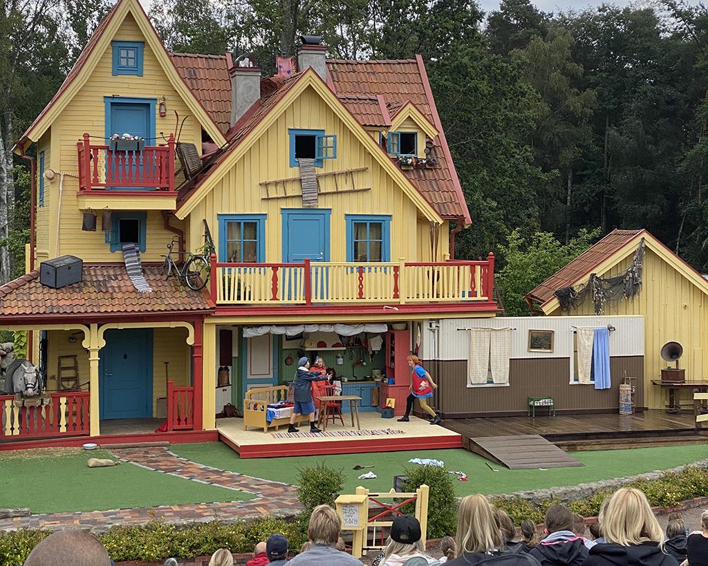 Astrid Lindgrens värld med Pippi-teater